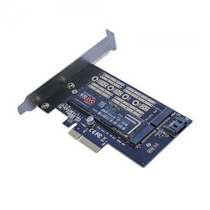 M.2 SATA SSD & M.2 PCIE SSD  TO PCI-e Card